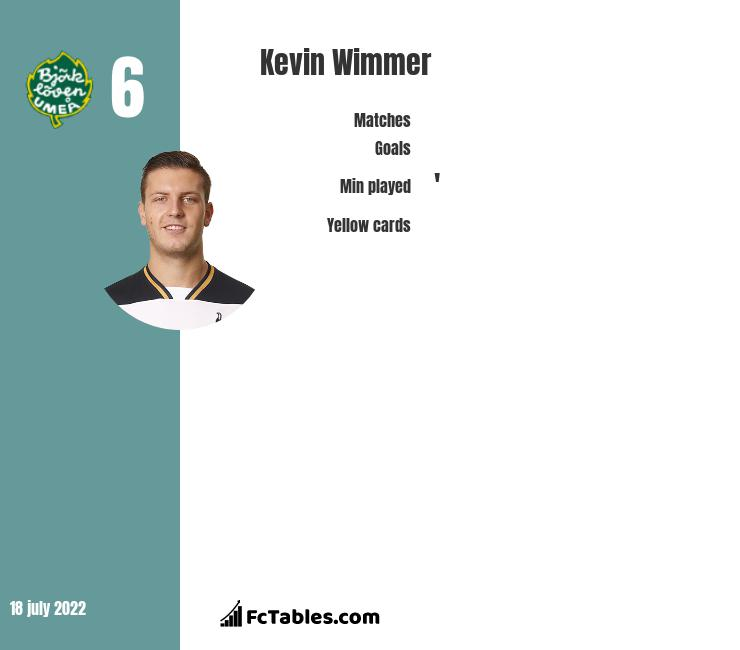 Kevin Wimmer infographic