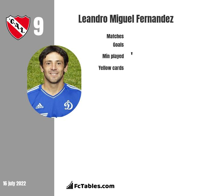 Leandro Miguel Fernandez infographic