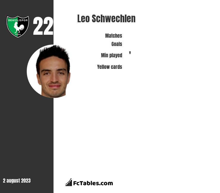 Leo Schwechlen infographic