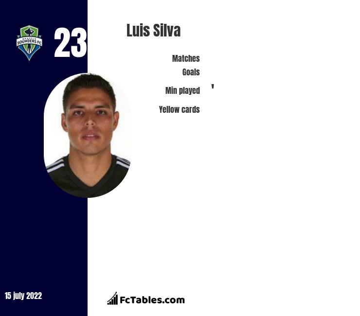 Luis Silva infographic