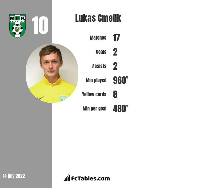 Lukas Cmelik infographic