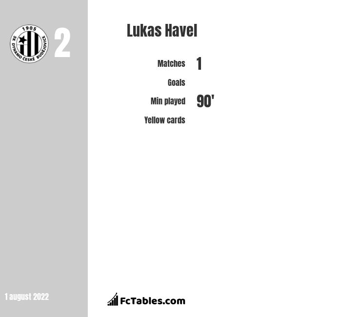 Lukas Havel infographic