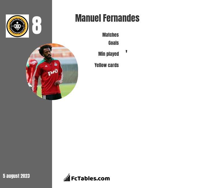 Manuel Fernandes infographic