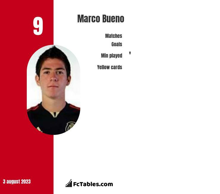 Marco Bueno infographic