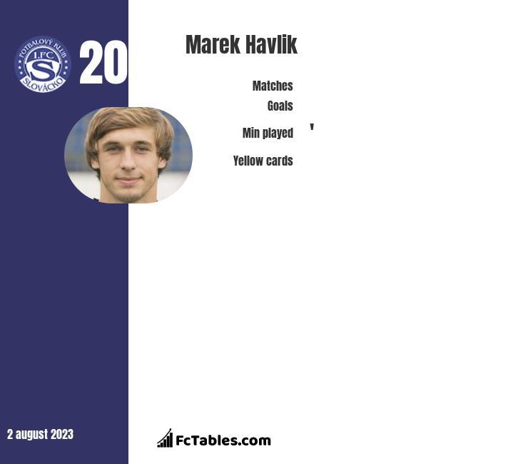 Marek Havlik infographic