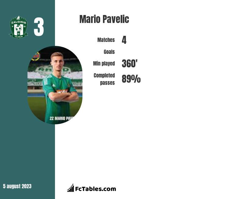 Mario Pavelic infographic