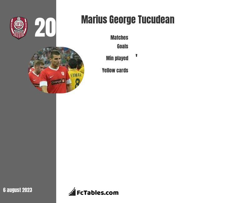 Marius George Tucudean infographic