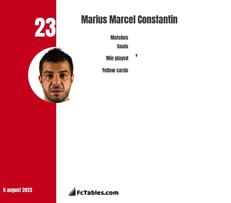 Marius Marcel Constantin infographic