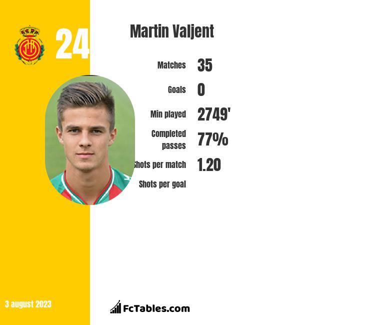 Martin Valjent infographic