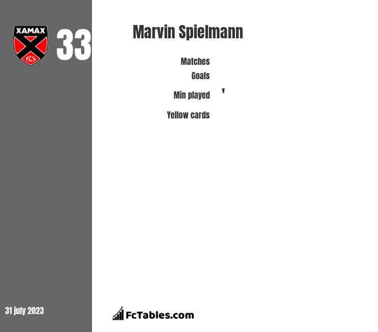 Marvin Spielmann infographic
