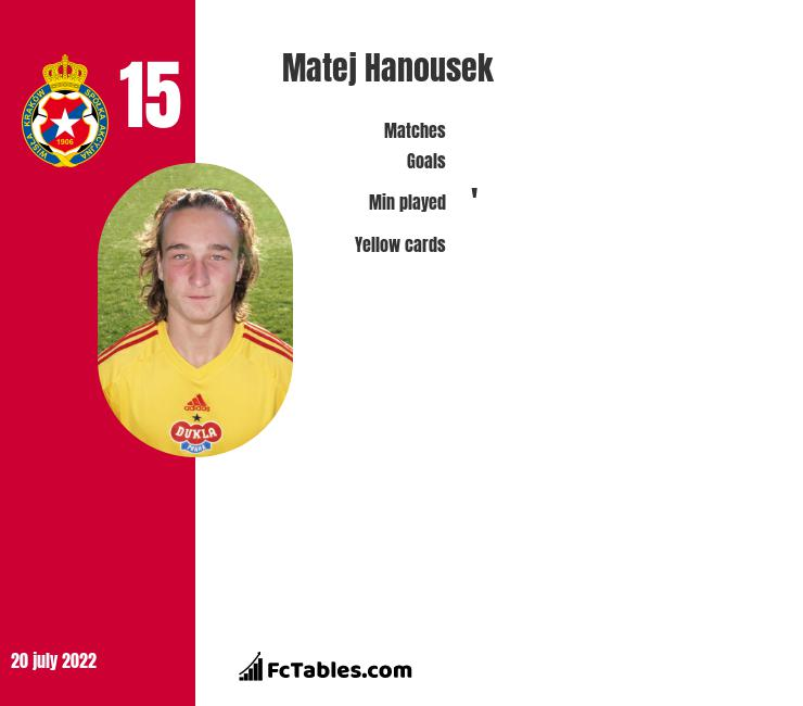 Matej Hanousek infographic