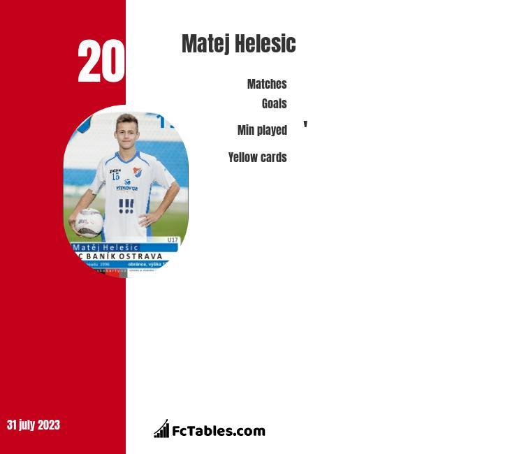 Matej Helesic infographic
