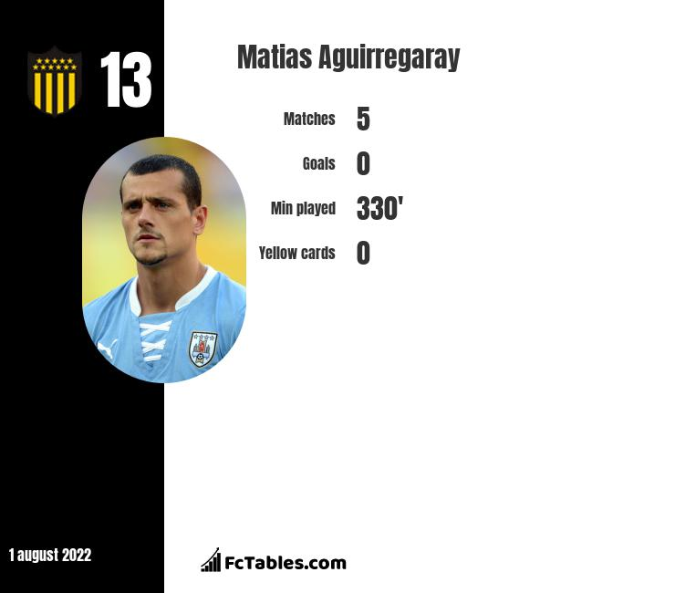 Matias Aguirregaray infographic