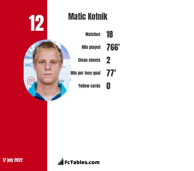 Matic Kotnik infographic