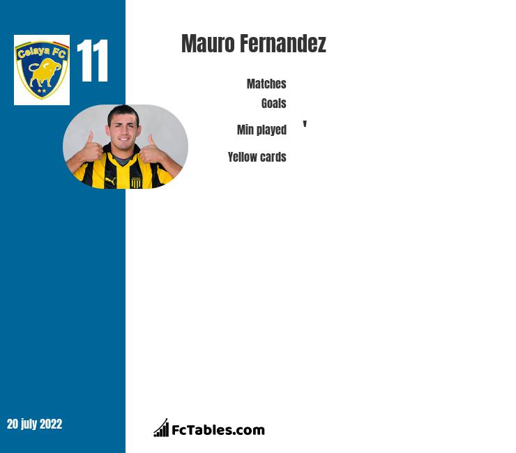 Mauro Fernandez infographic