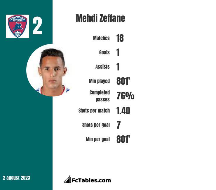 Mehdi Zeffane infographic