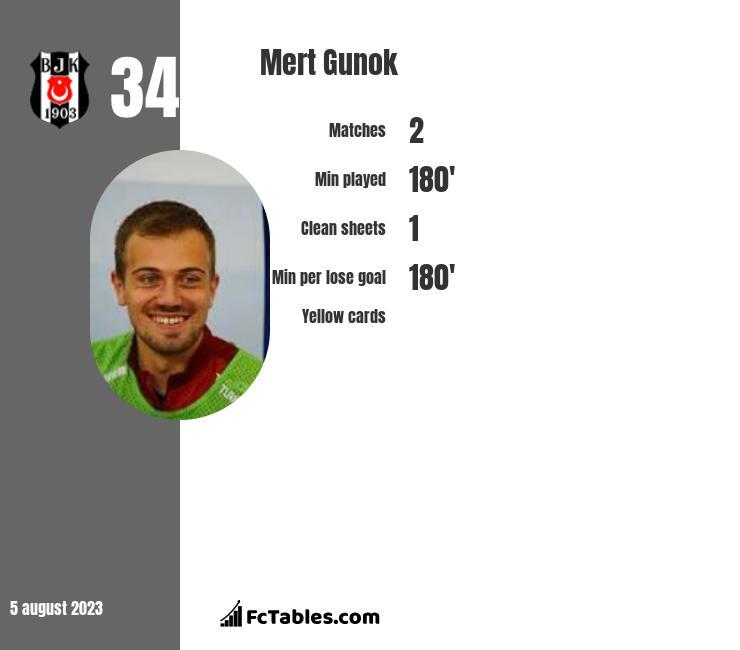 Mert Gunok infographic