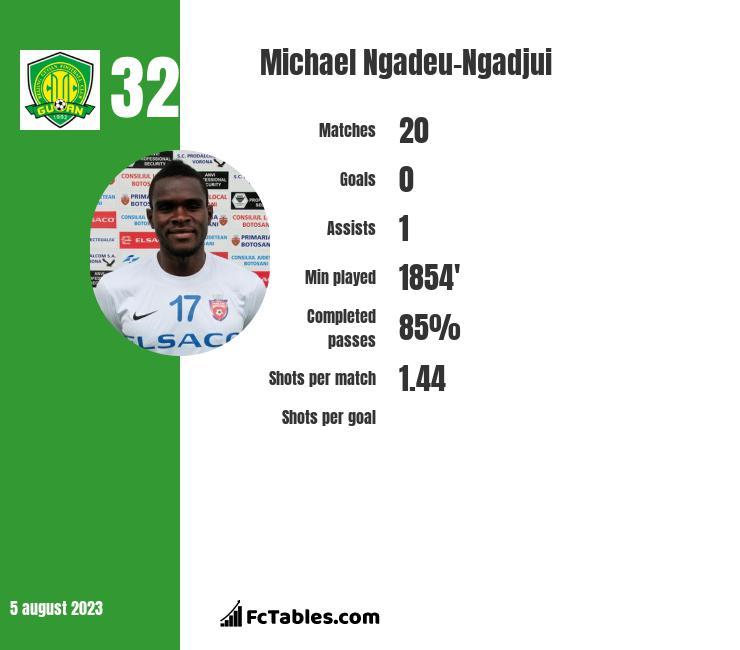 Michael Ngadeu-Ngadjui infographic