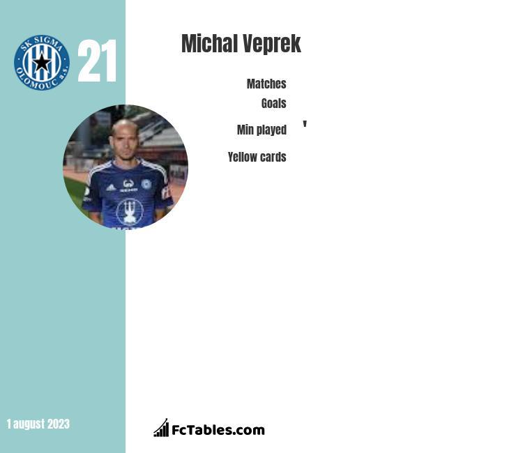Michal Veprek infographic