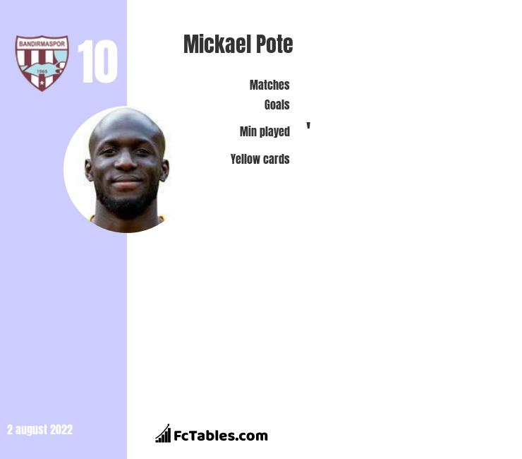 Mickael Pote infographic