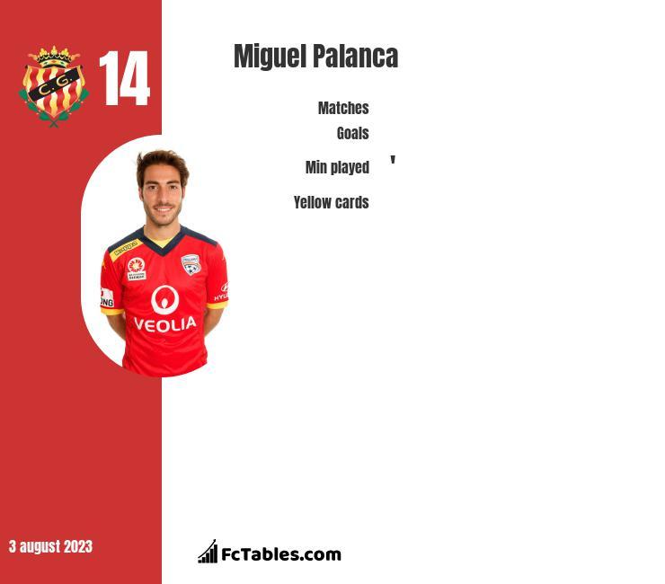 Miguel Palanca infographic