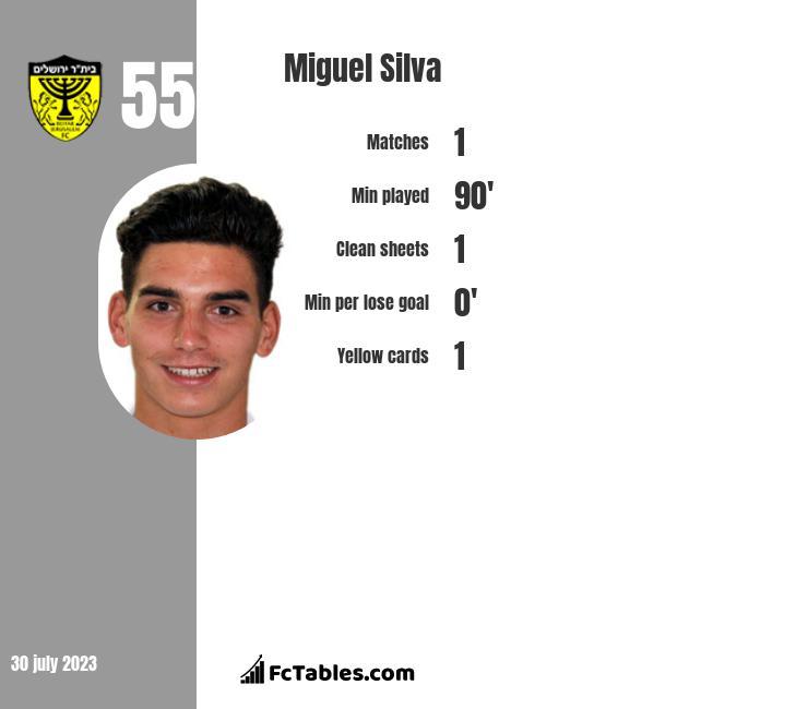 Miguel Silva infographic