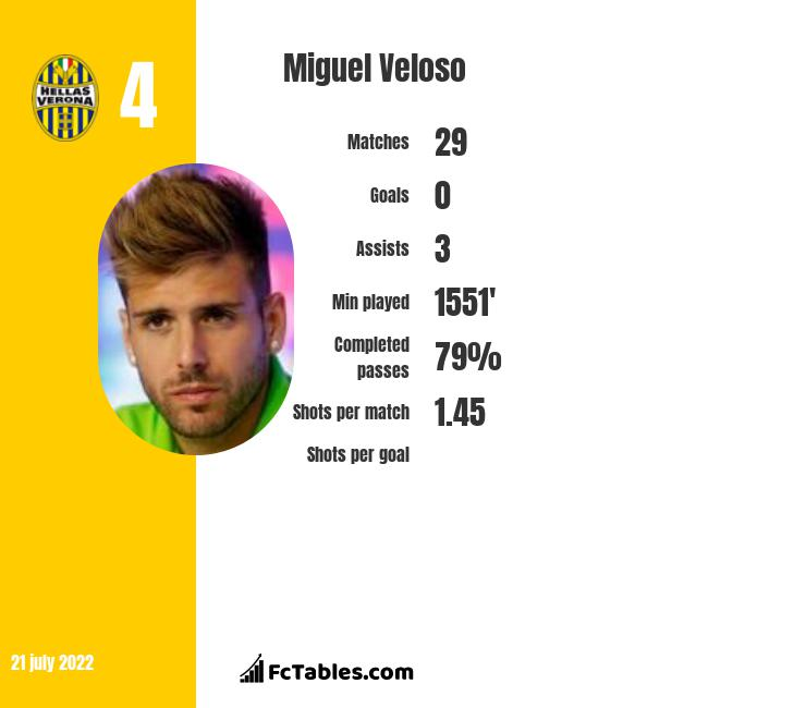 Miguel Veloso infographic