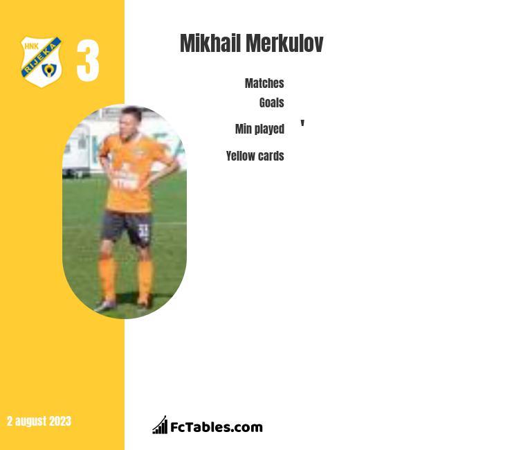 Mikhail Merkulov infographic