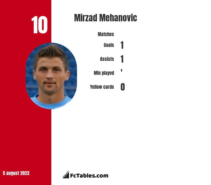 Mirzad Mehanovic infographic