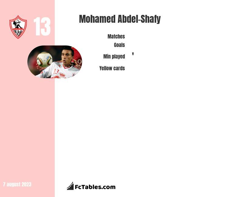 Mohamed Abdel-Shafy infographic