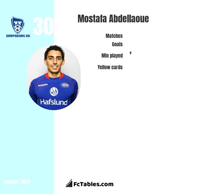 Mostafa Abdellaoue infographic