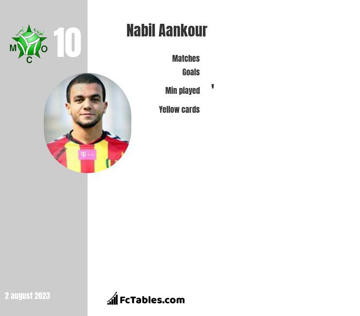 Nabil Aankour infographic