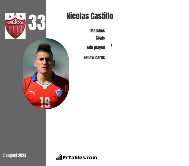 Nicolas Castillo infographic