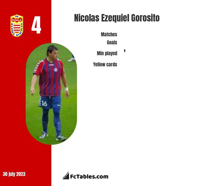 Nicolas Ezequiel Gorosito infographic