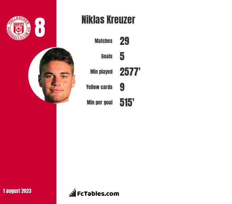 Niklas Kreuzer infographic