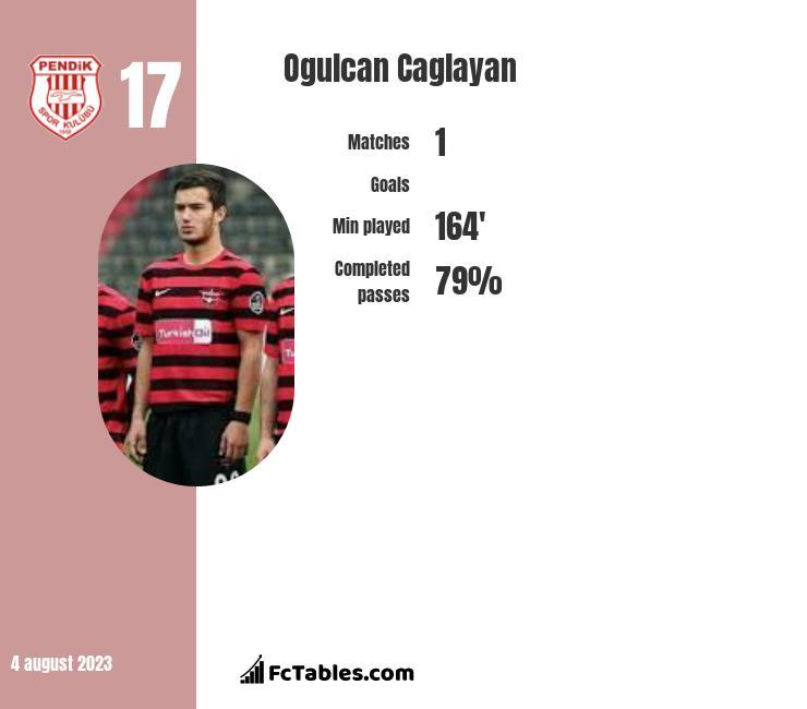 Ogulcan Caglayan infographic
