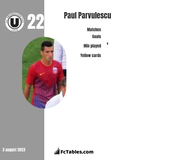 Paul Parvulescu infographic