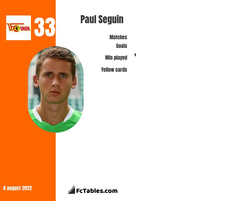 Paul Seguin infographic
