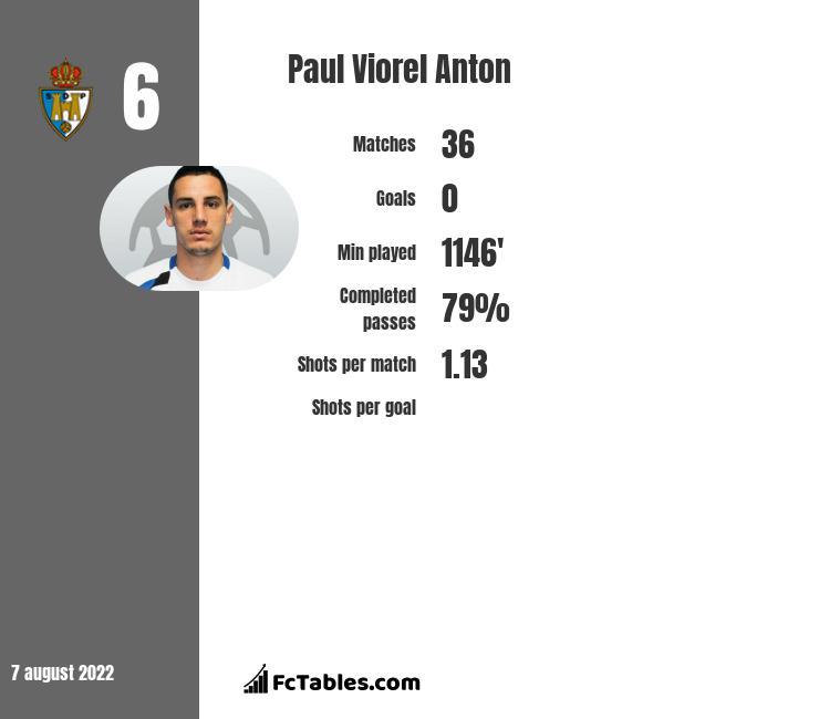 Paul Viorel Anton infographic