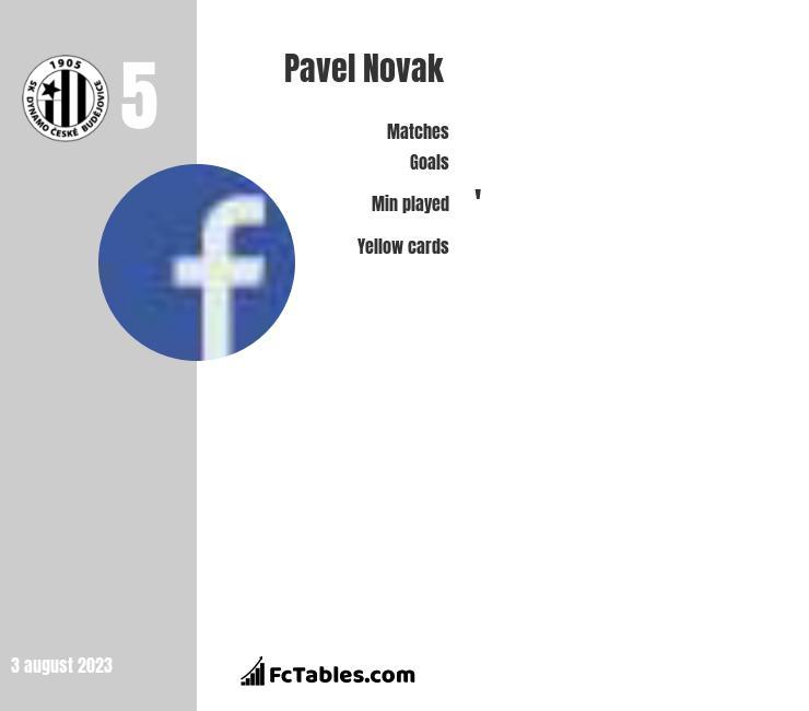 Pavel Novak infographic