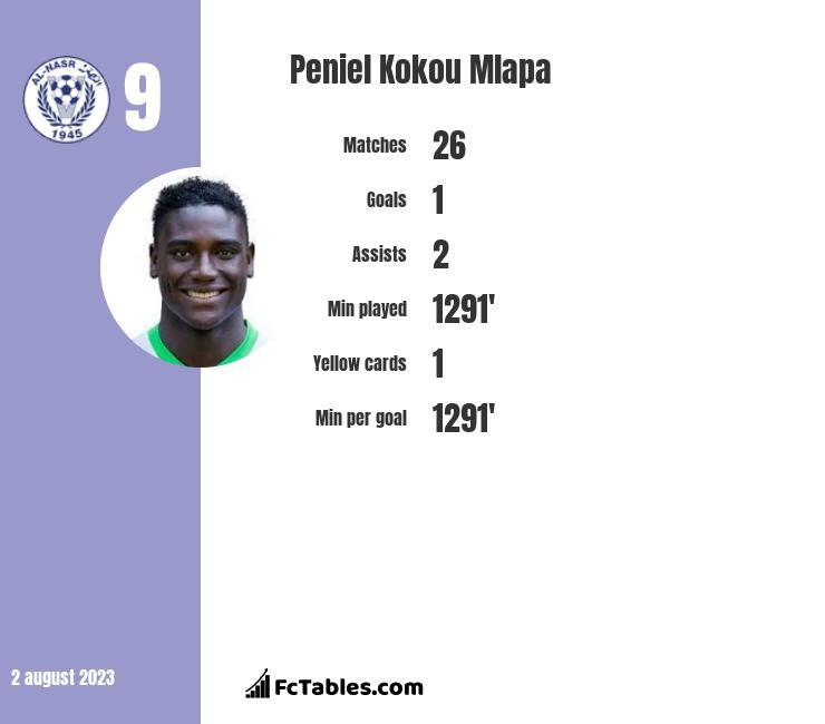 Peniel Kokou Mlapa infographic