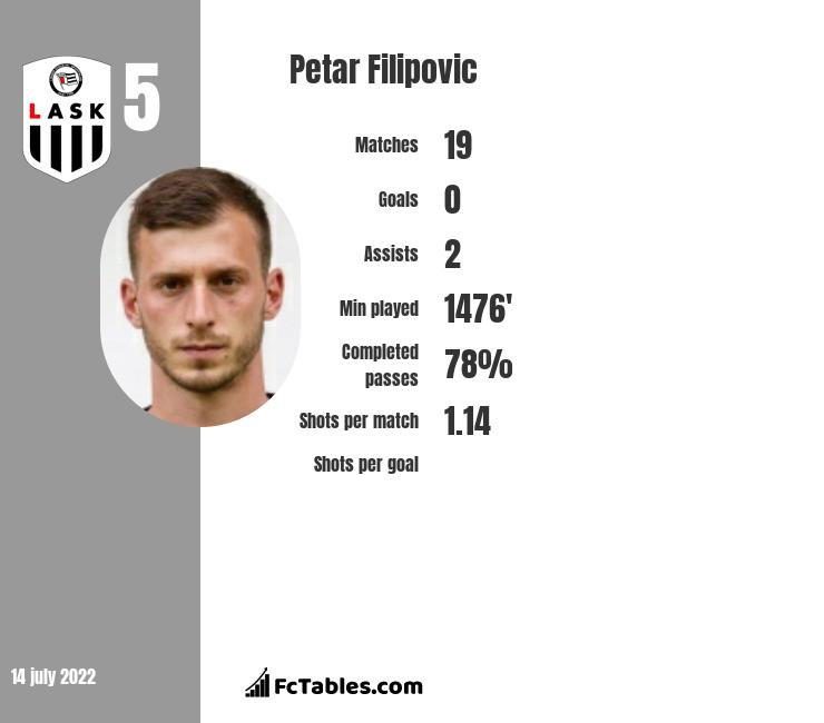 Petar Filipovic infographic