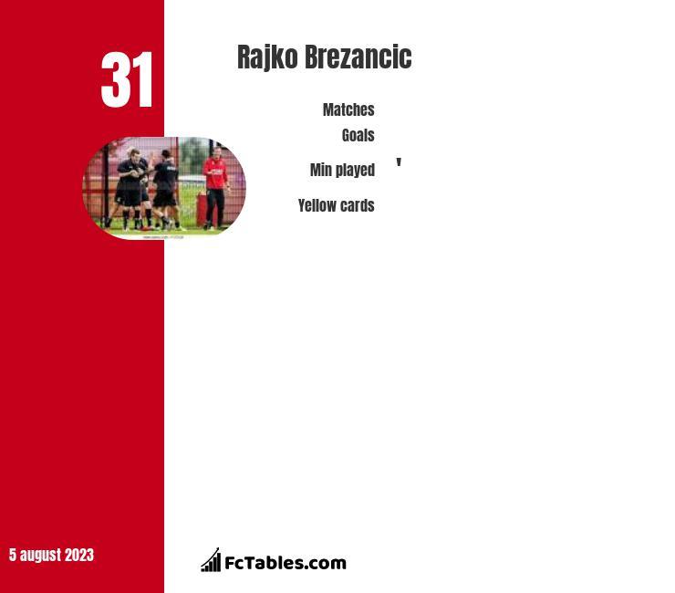Rajko Brezancic infographic
