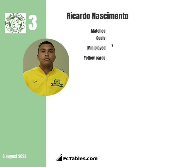 Ricardo Nascimento infographic