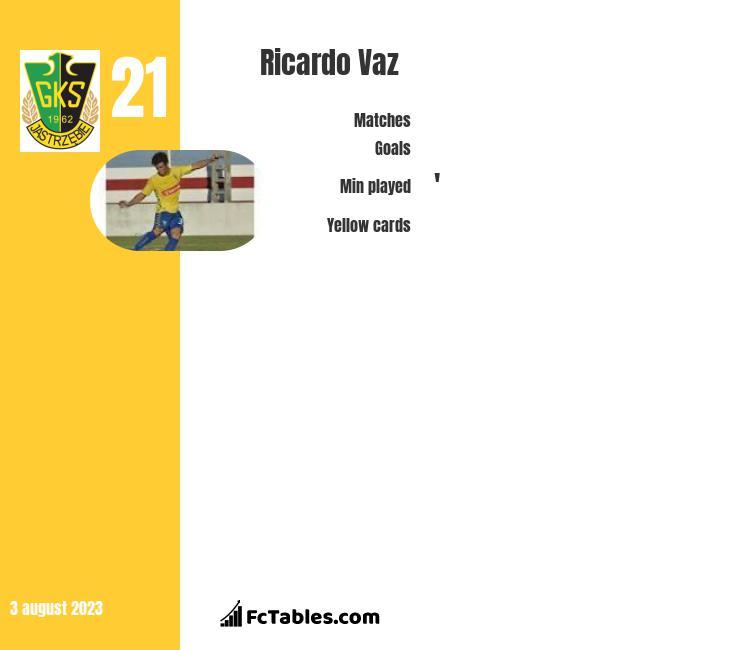 Ricardo Vaz infographic
