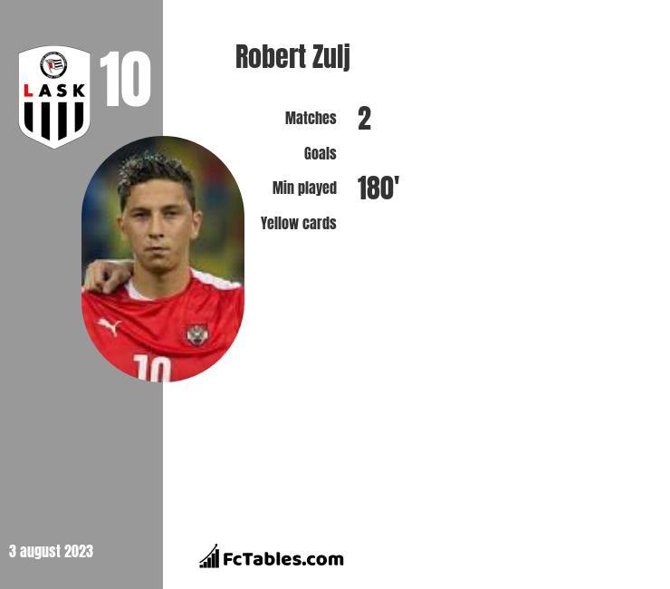 Robert Zulj infographic