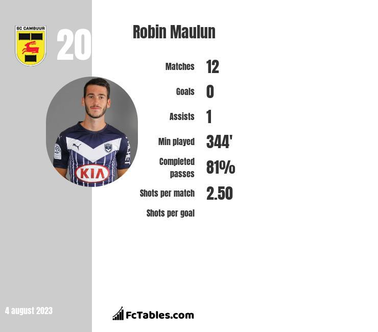 Robin Maulun infographic