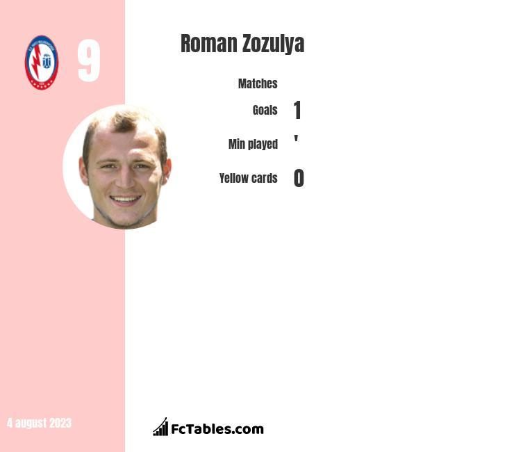 Roman Zozulya infographic