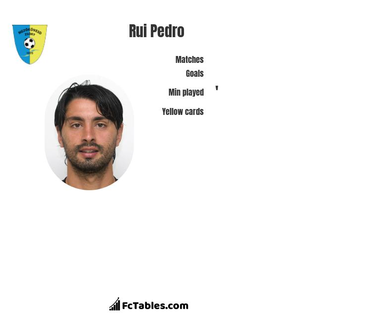 Rui Pedro infographic