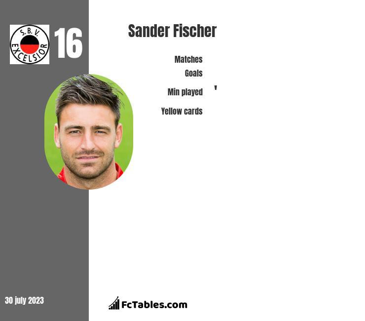 Sander Fischer infographic